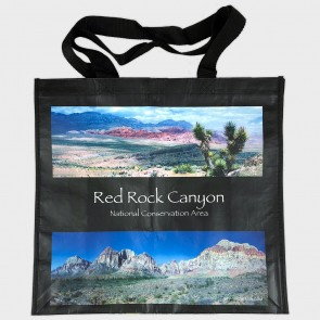 Shopping Bag Reusable Recycled Red Rock Images