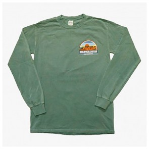 T-Shirt Red Rock Vintage Long Sleeve