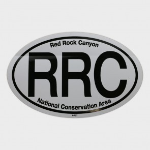 Decal Red Rock Canyon Euro Oval
