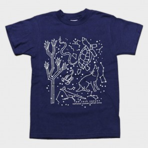 T-Shirt Youth Red Rock Animal Constellation