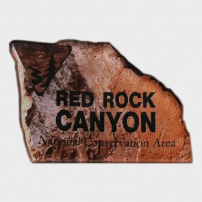 Magnet Red Rock Canyon Sign Acrylic