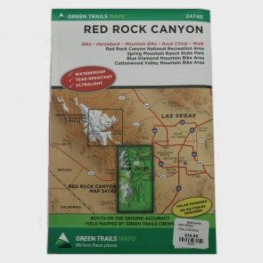 Green Trails Red Rock Canyon NCA Map
