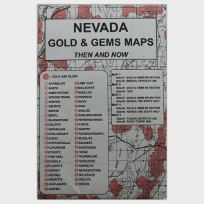 Nevada Gold & Gems Maps: Then and Now