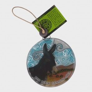 Ornament Glass Jackson the Burro