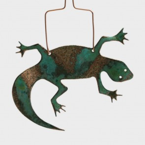Ornament Copper Lizard