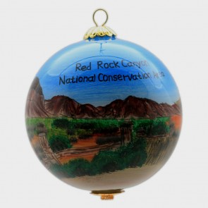 Ornament - Red Rock View With Joshua Tree