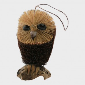 Ornament Brush Art Owl