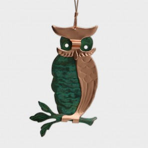 Ornament Copper Owl