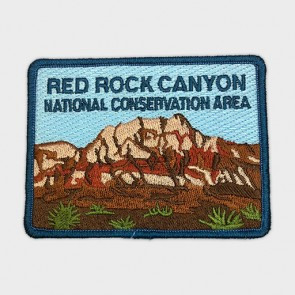 Red Rock Canyon Mt. Wilson Embroidered Patch