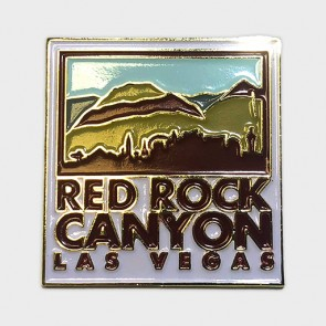 Red Rock Canyon Las Vegas Collectible Lapel Pin