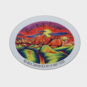Decal Red Rock Canyon Art by Mary Felker