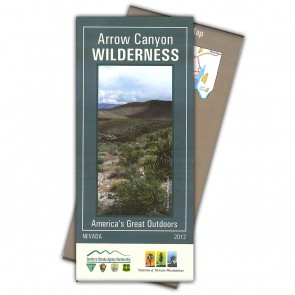 Arrow Canyon Wilderness Map
