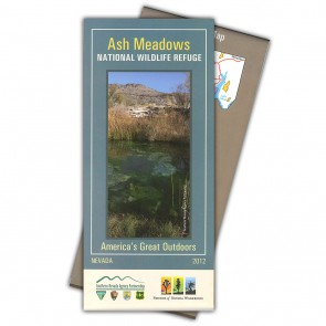 Ash Meadows National Wildlife Refuge Map