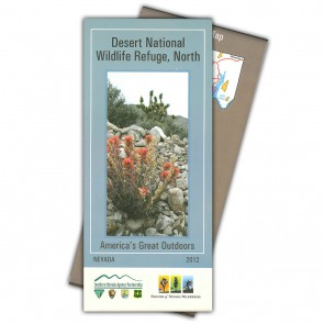 Desert National Wildlife Refuge North Map