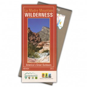La Madre Mountain Wilderness Map
