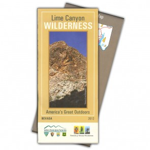 Lime Canyon Wilderness Map