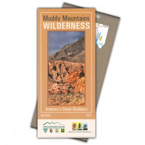 Muddy Mountains Wilderness Map