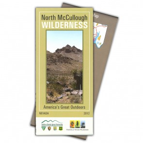North McCullough Wilderness Map