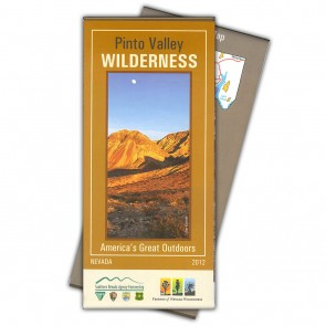 Pinto Valley Wilderness Map