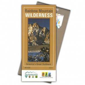 Rainbow Mountain Wilderness Map