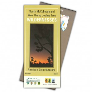 South McCullough & Wee Thump Joshua Tree Wilderness Map