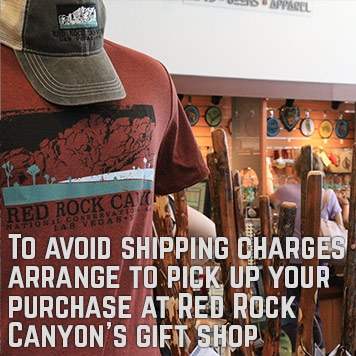 Pickup your order from the Red Rock Gift Shop